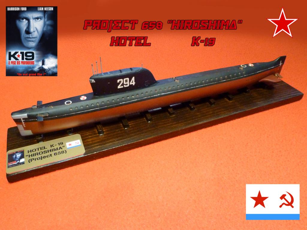 "Montage Sous-marin Classe OSCAR II  ""KURSK"" 1/350 Hotel_11"