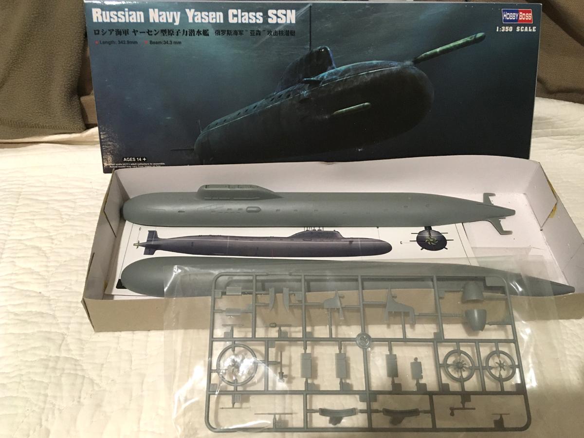 K-560 SEVERODVINSK 1/350 Hobby Boss Kazan110