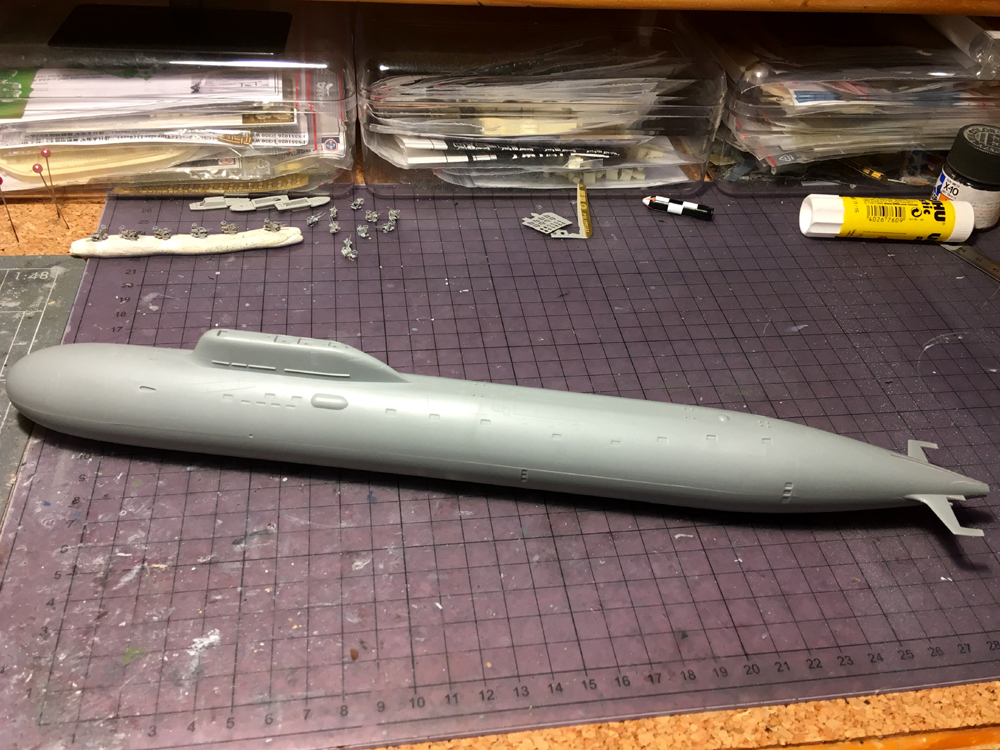 K-560 SEVERODVINSK 1/350 Hobby Boss Kazan210