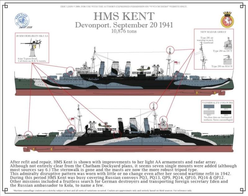 HMS Kent 1/350 Trumpeter Kent_010
