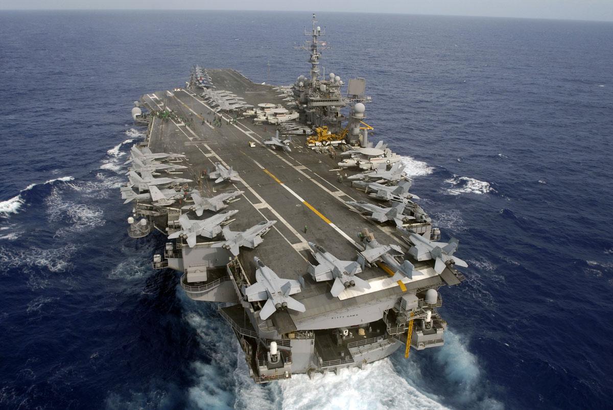 Supercarrier USS Kitty Hawk (CV-63) - Trumpeter - 1/350 Kitty_13