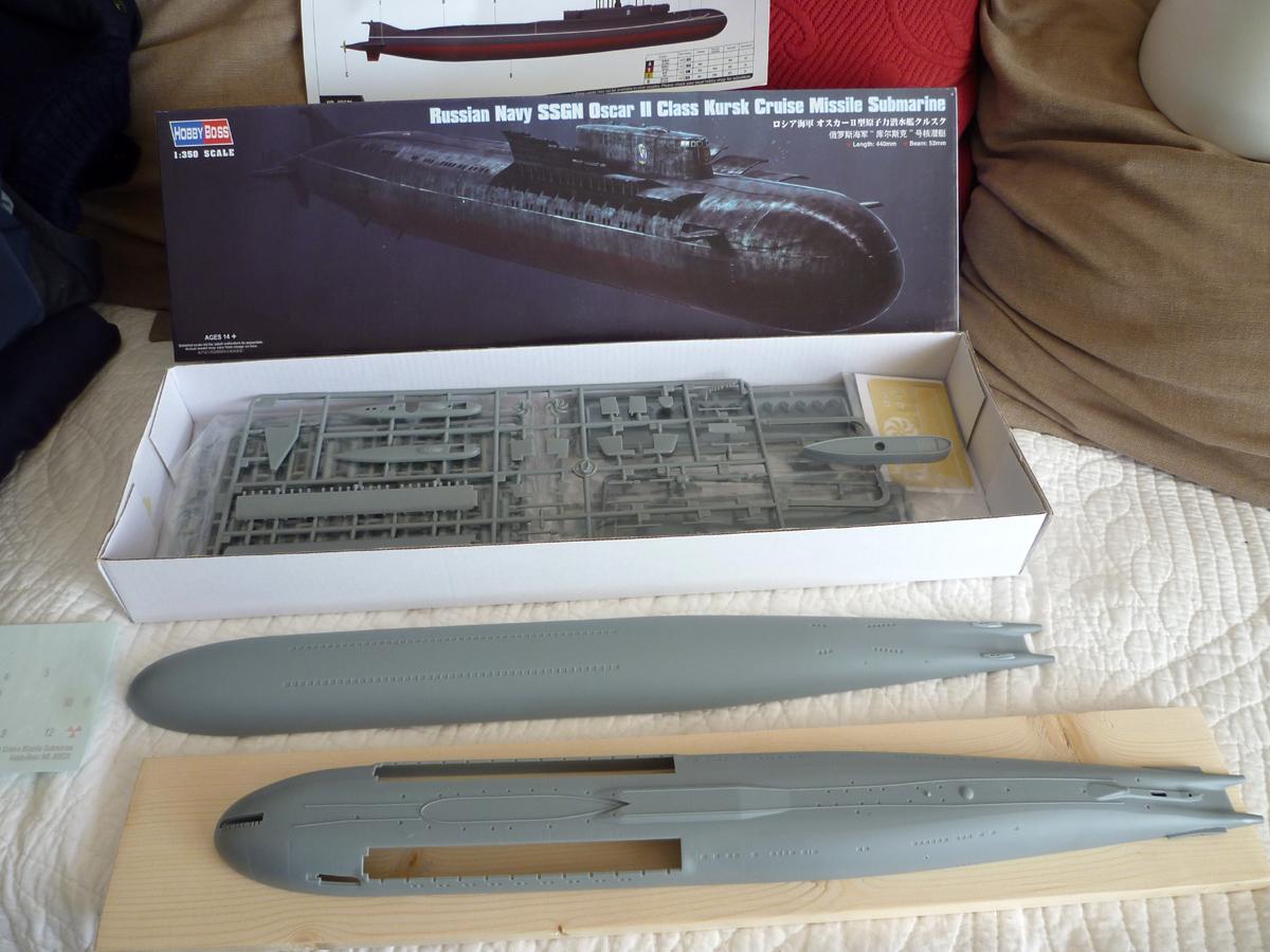 "Montage Sous-marin Classe OSCAR II  ""KURSK"" 1/350 Kursk_10"