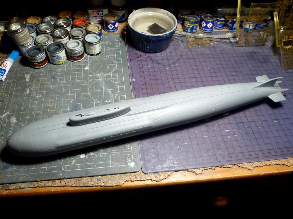 "Montage Sous-marin Classe OSCAR II  ""KURSK"" 1/350 Kursk_13"