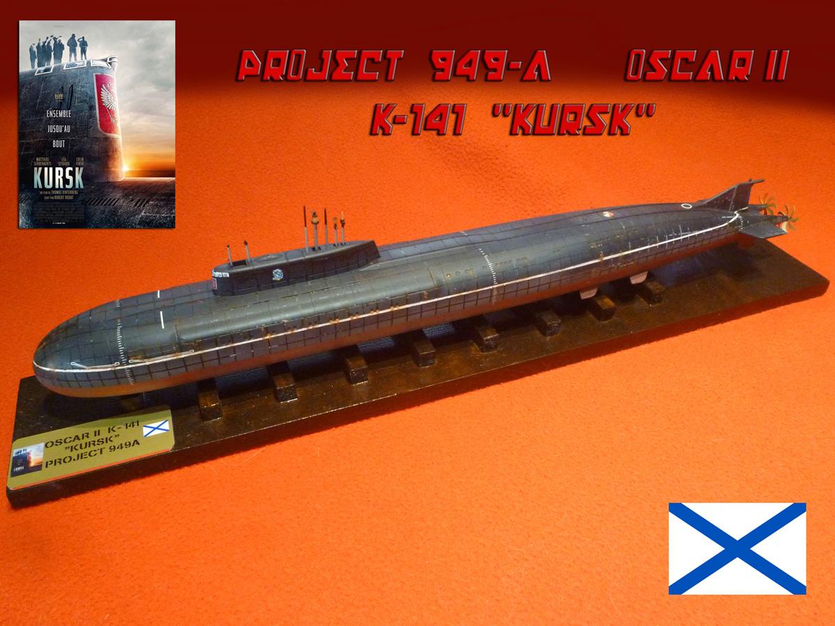 "Sous-marin Classe OSCAR II ""KURSK"" K-141 Kursk_29"