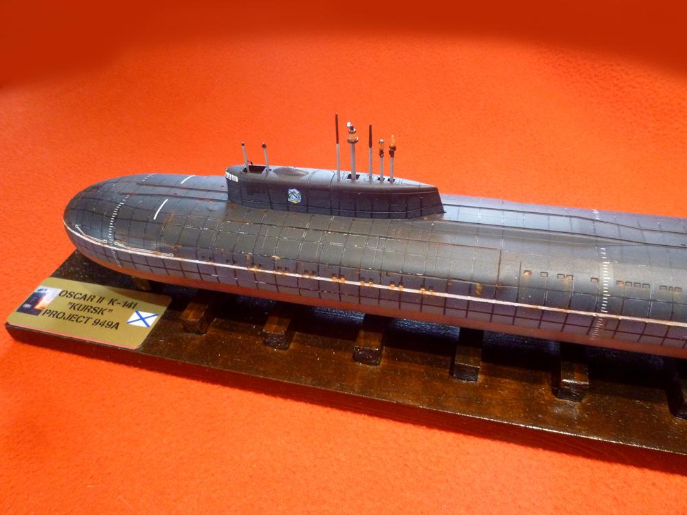 "Sous-marin Classe OSCAR II ""KURSK"" K-141 Kursk_35"