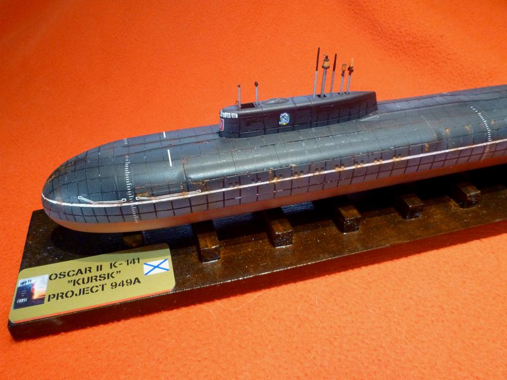 "Sous-marin Classe OSCAR II ""KURSK"" K-141 Kursk_36"