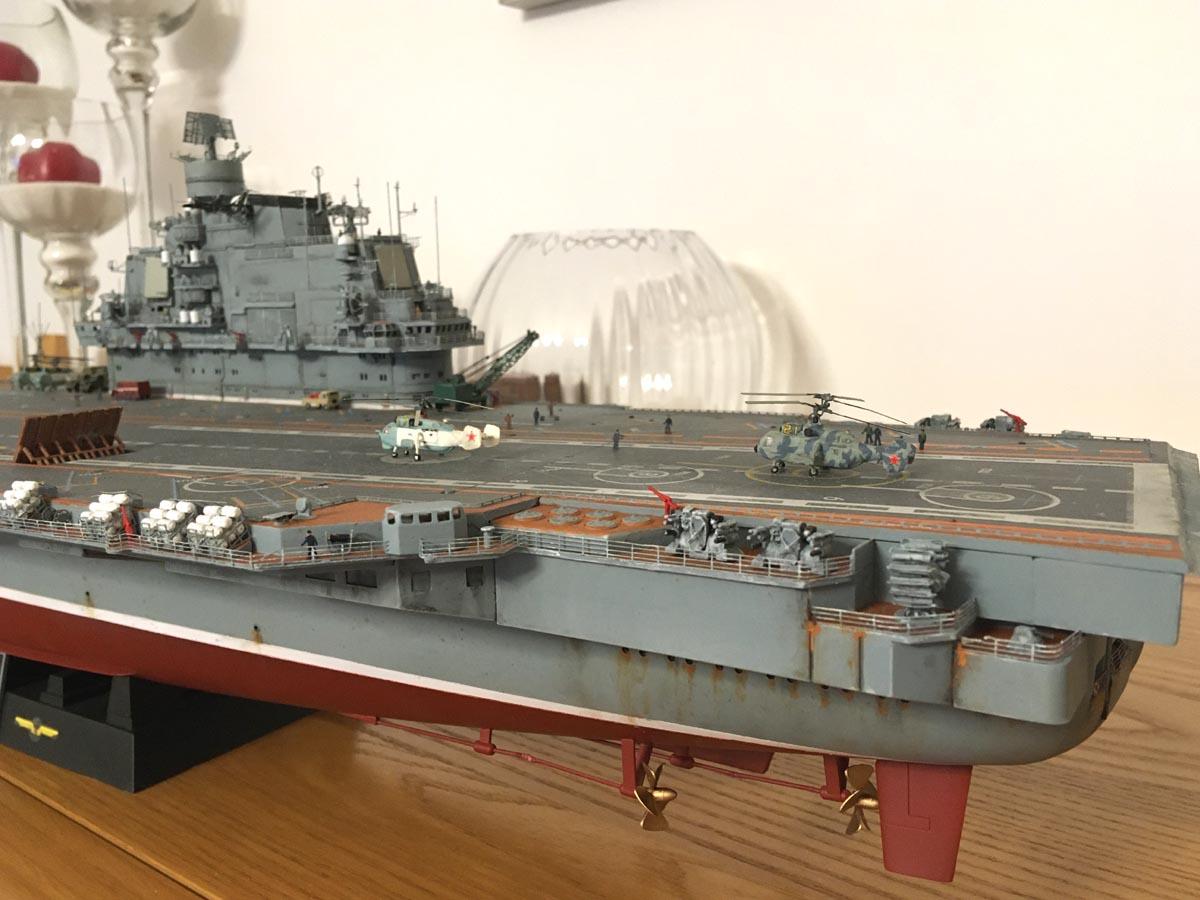 Admiral KUZNETSOV 1/350 UPGRADED! Kuz1210