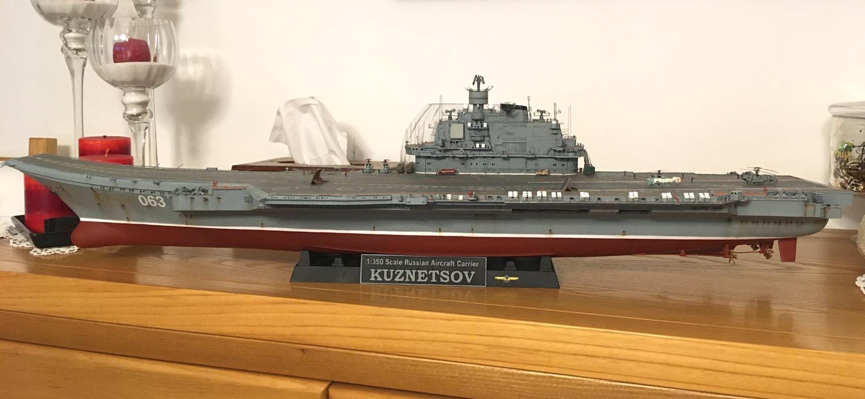 Admiral KUZNETSOV 1/350 UPGRADED! Kuz1310