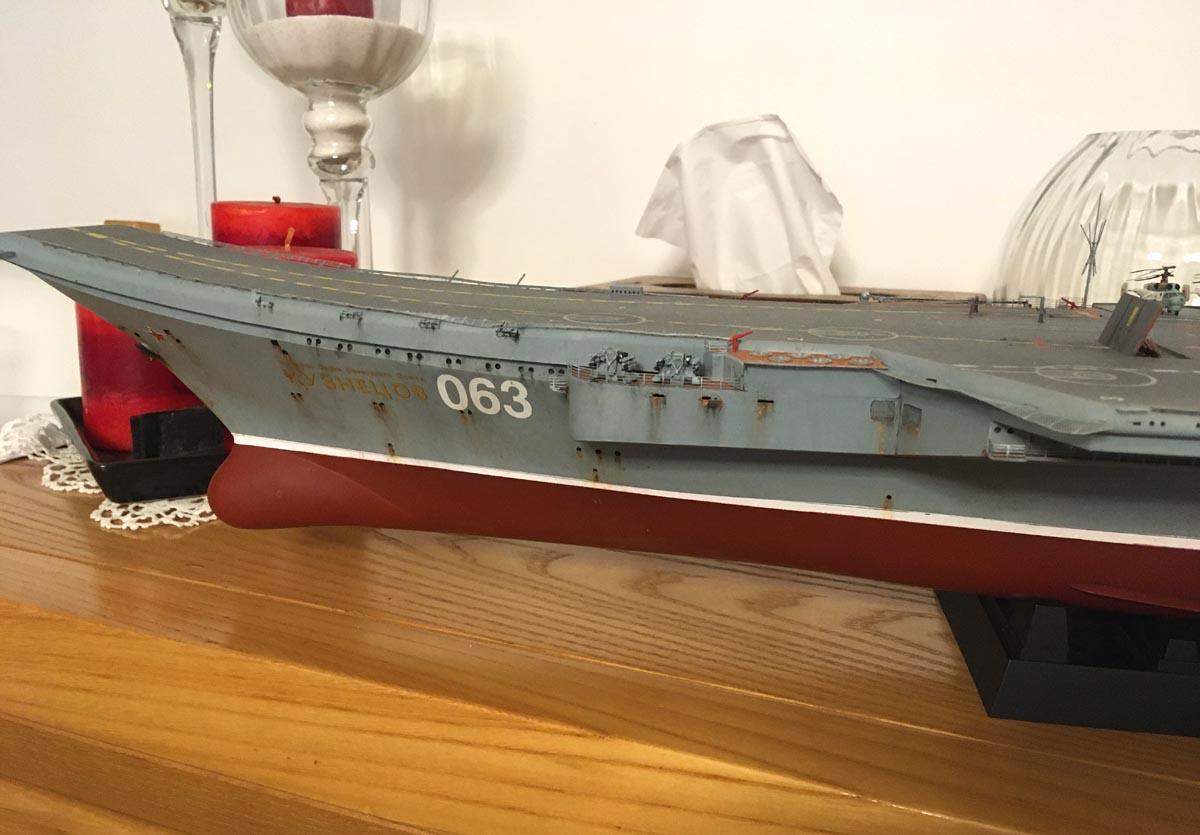 Admiral KUZNETSOV 1/350 UPGRADED! Kuz1410