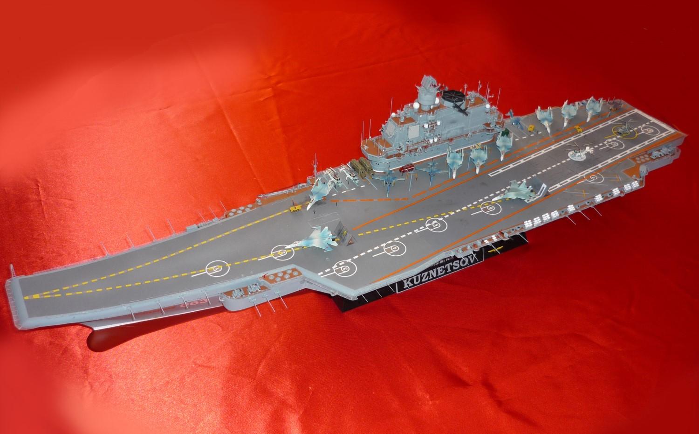 Admiral KUZNETSOV 1/350 UPGRADED! Kuz210