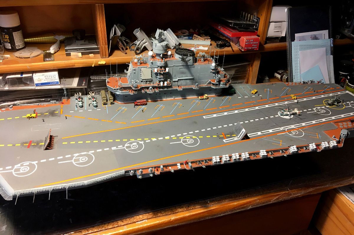 Admiral KUZNETSOV 1/350 UPGRADED! Kuz710
