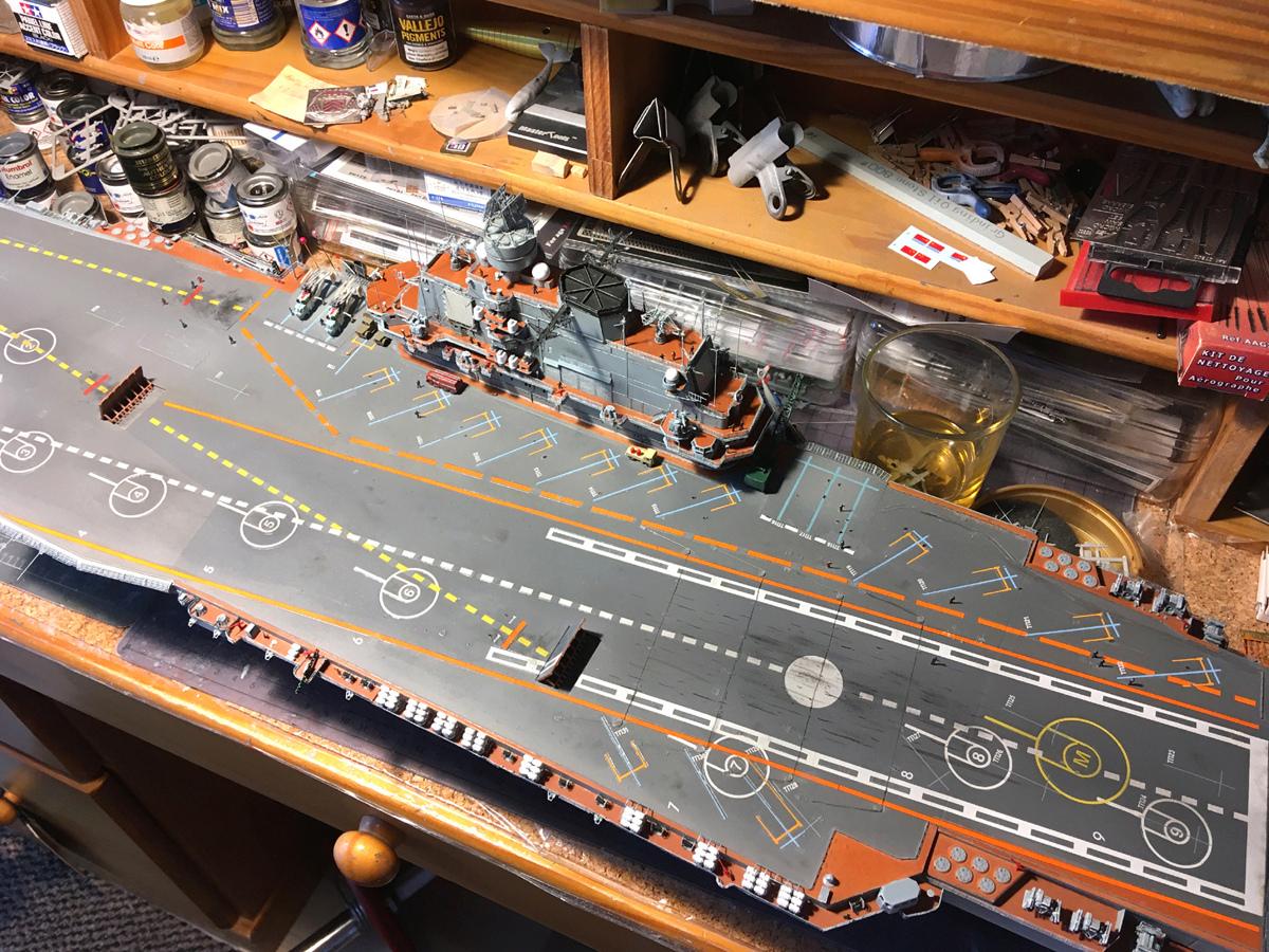 Admiral KUZNETSOV 1/350 UPGRADED! Kuz910