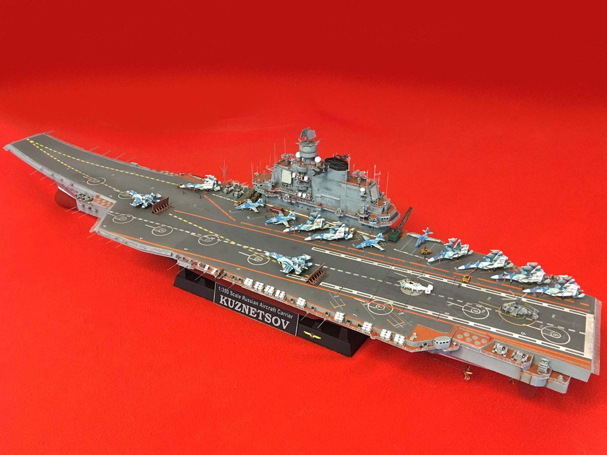 "Admiral KUZNETSOV ""UPGRADED"" 1/350 Kuznet12"