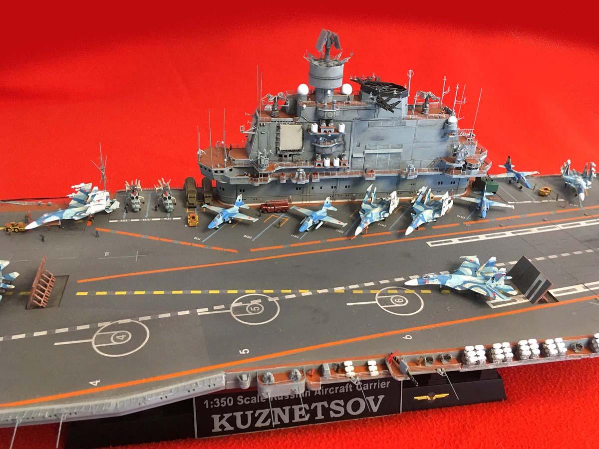 "Admiral KUZNETSOV ""UPGRADED"" 1/350 Kuznet14"