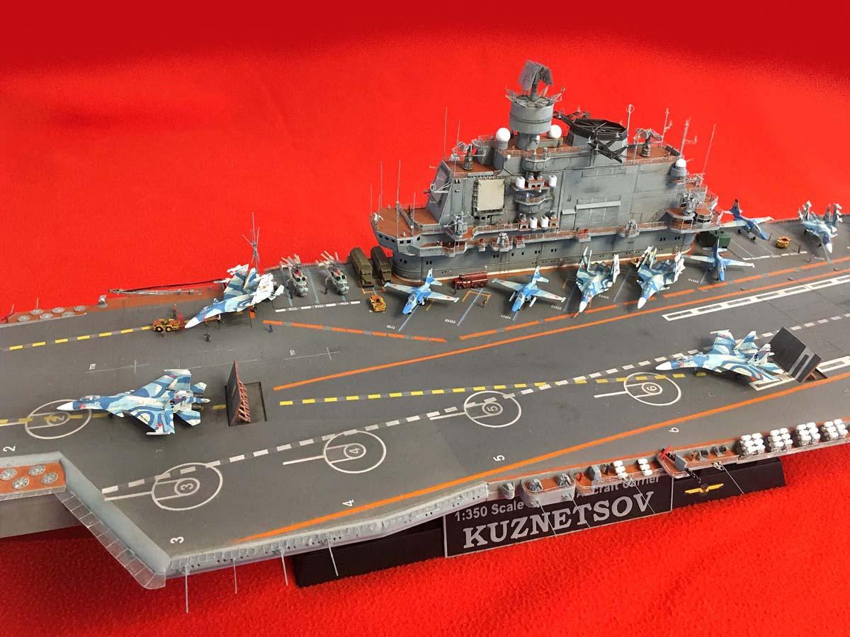 "Admiral KUZNETSOV ""UPGRADED"" 1/350 Kuznet15"