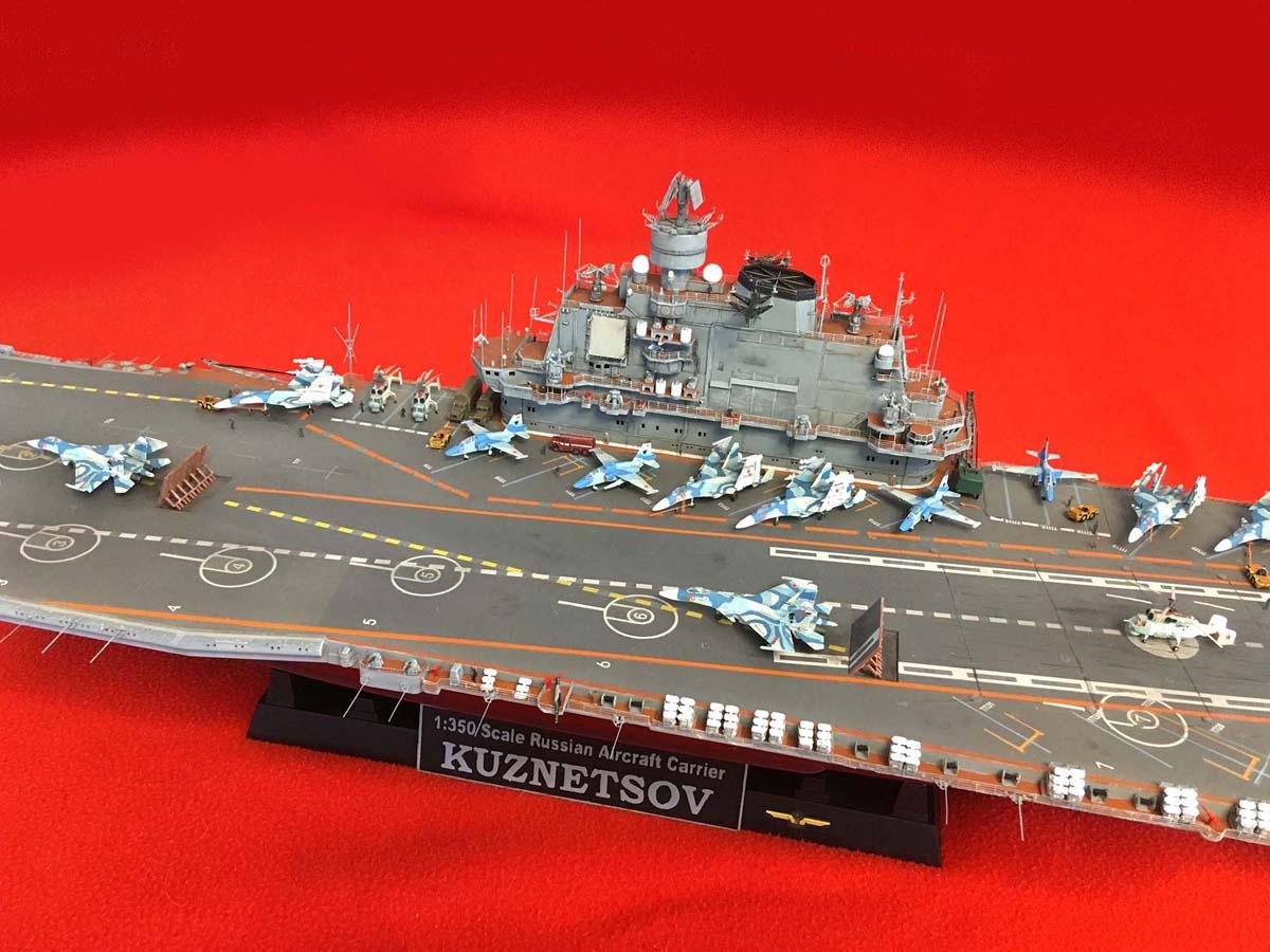 "Admiral KUZNETSOV ""UPGRADED"" 1/350 Kuznet16"