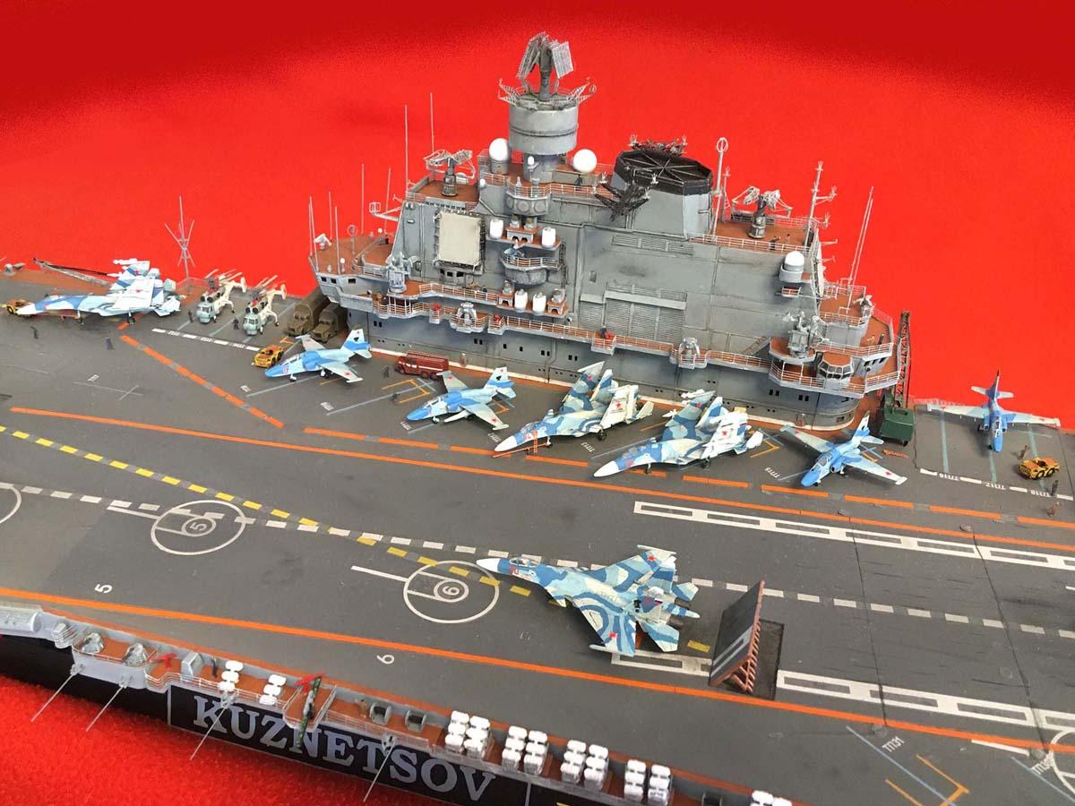 "Admiral KUZNETSOV ""UPGRADED"" 1/350 Kuznet17"