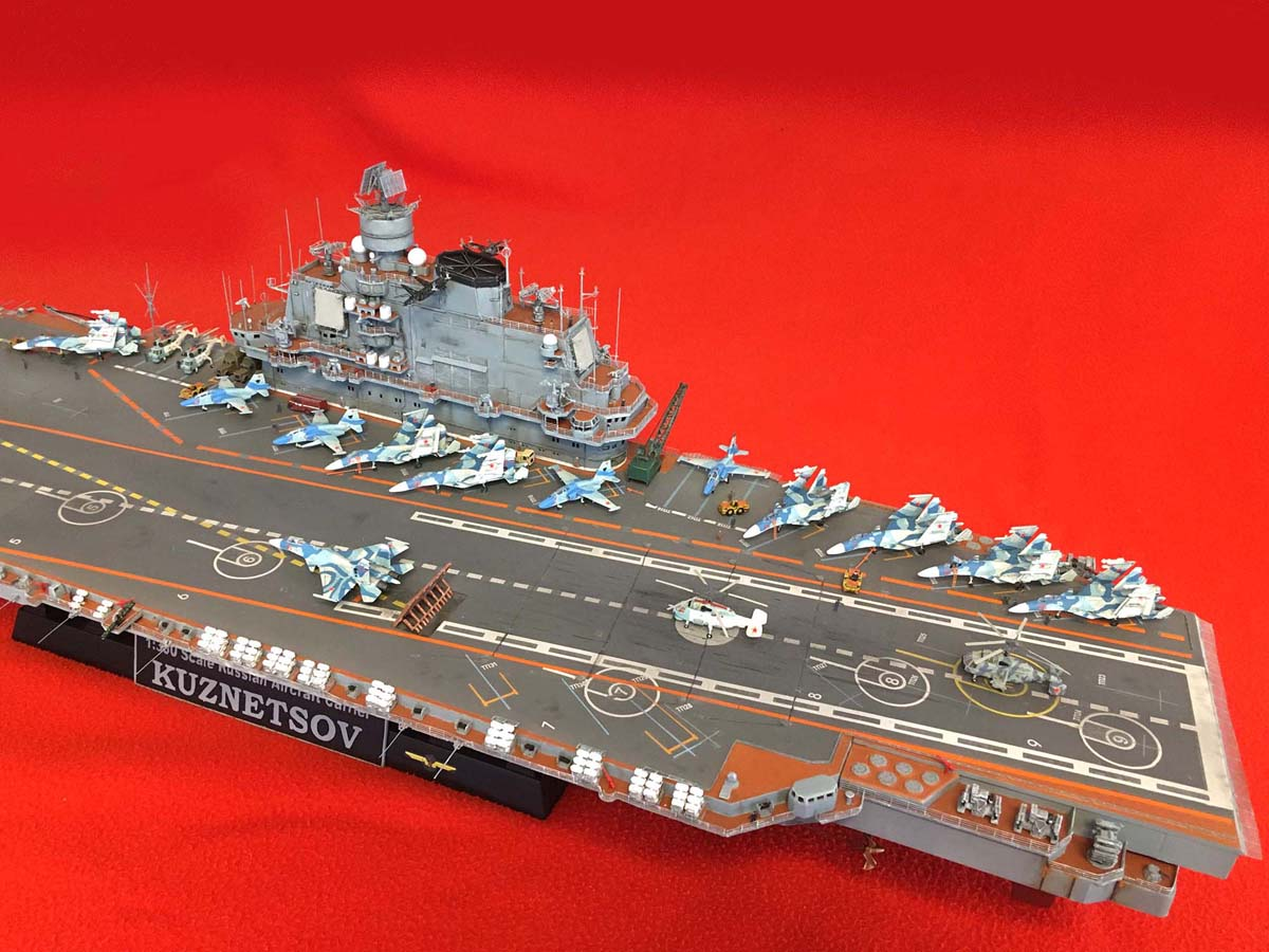 "Admiral KUZNETSOV ""UPGRADED"" 1/350 Kuznet18"