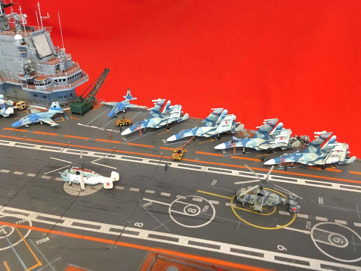 "Admiral KUZNETSOV ""UPGRADED"" 1/350 Kuznet21"