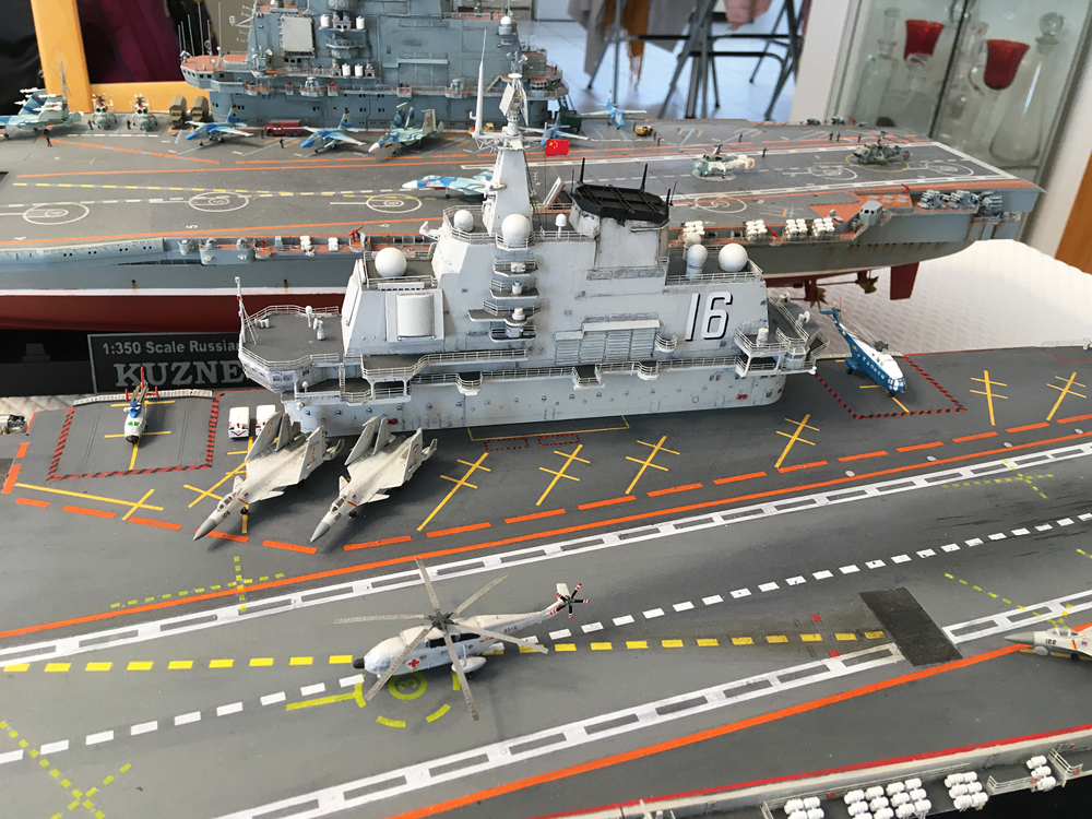 Porte-avions LIAONING 1/350 - Page 7 Liaon190