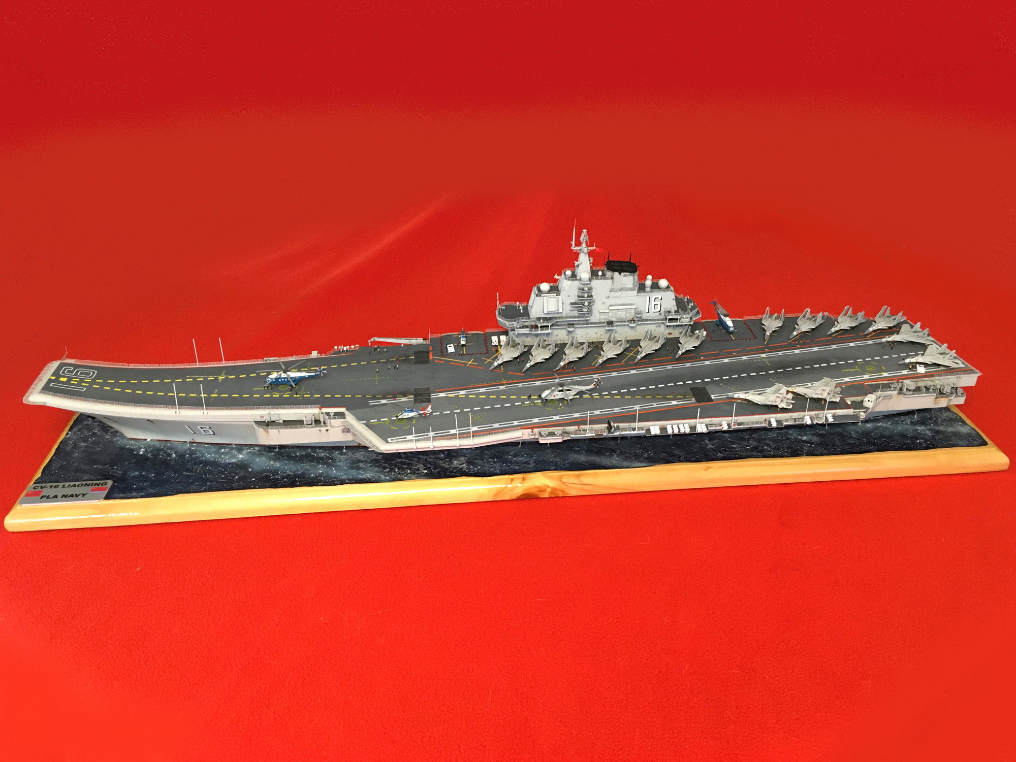 Porte-avions LIAONING CV-16 (PLA Navy) Liaon201