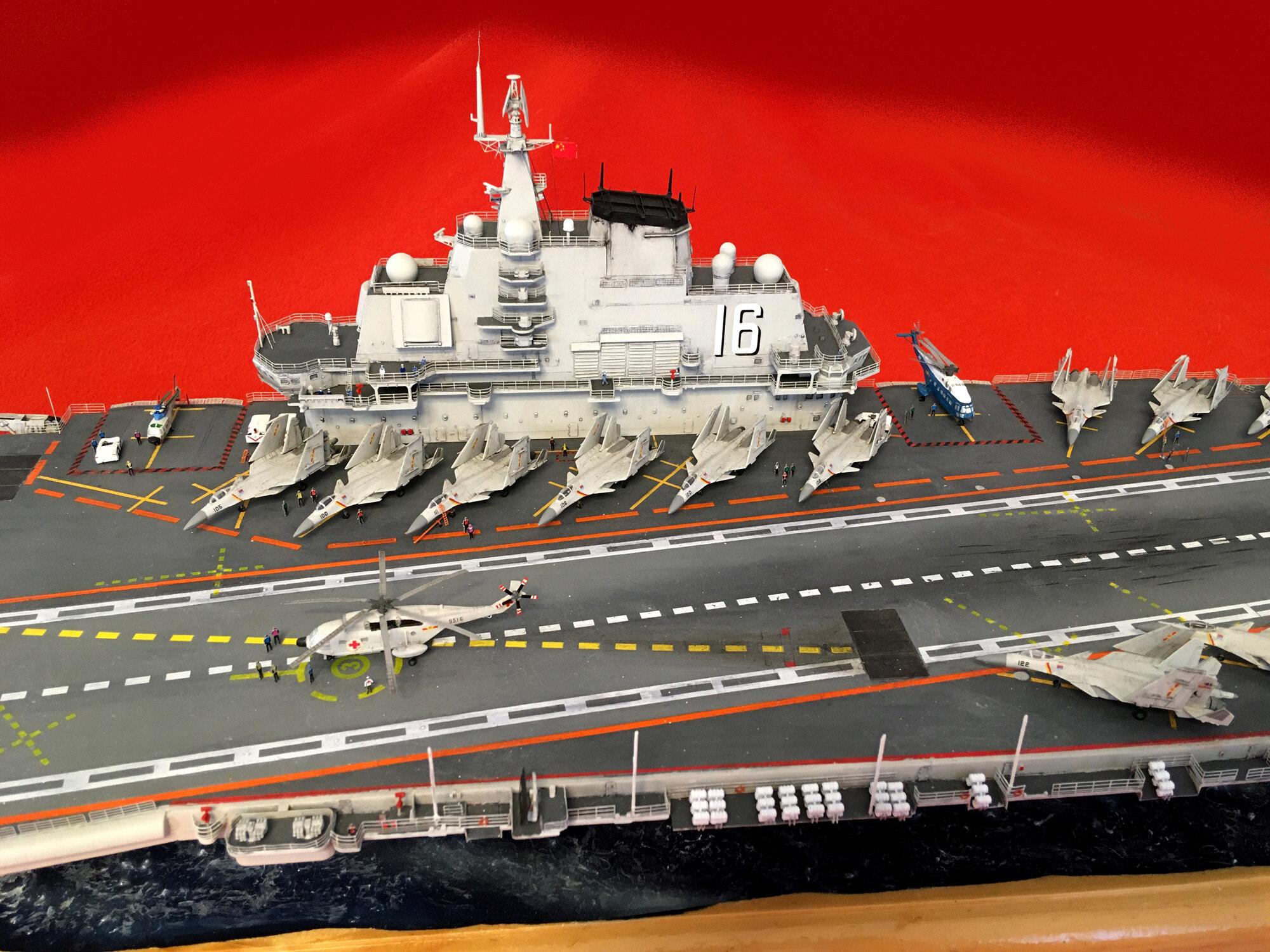 Porte-avions LIAONING CV-16 (PLA Navy) Liaon205