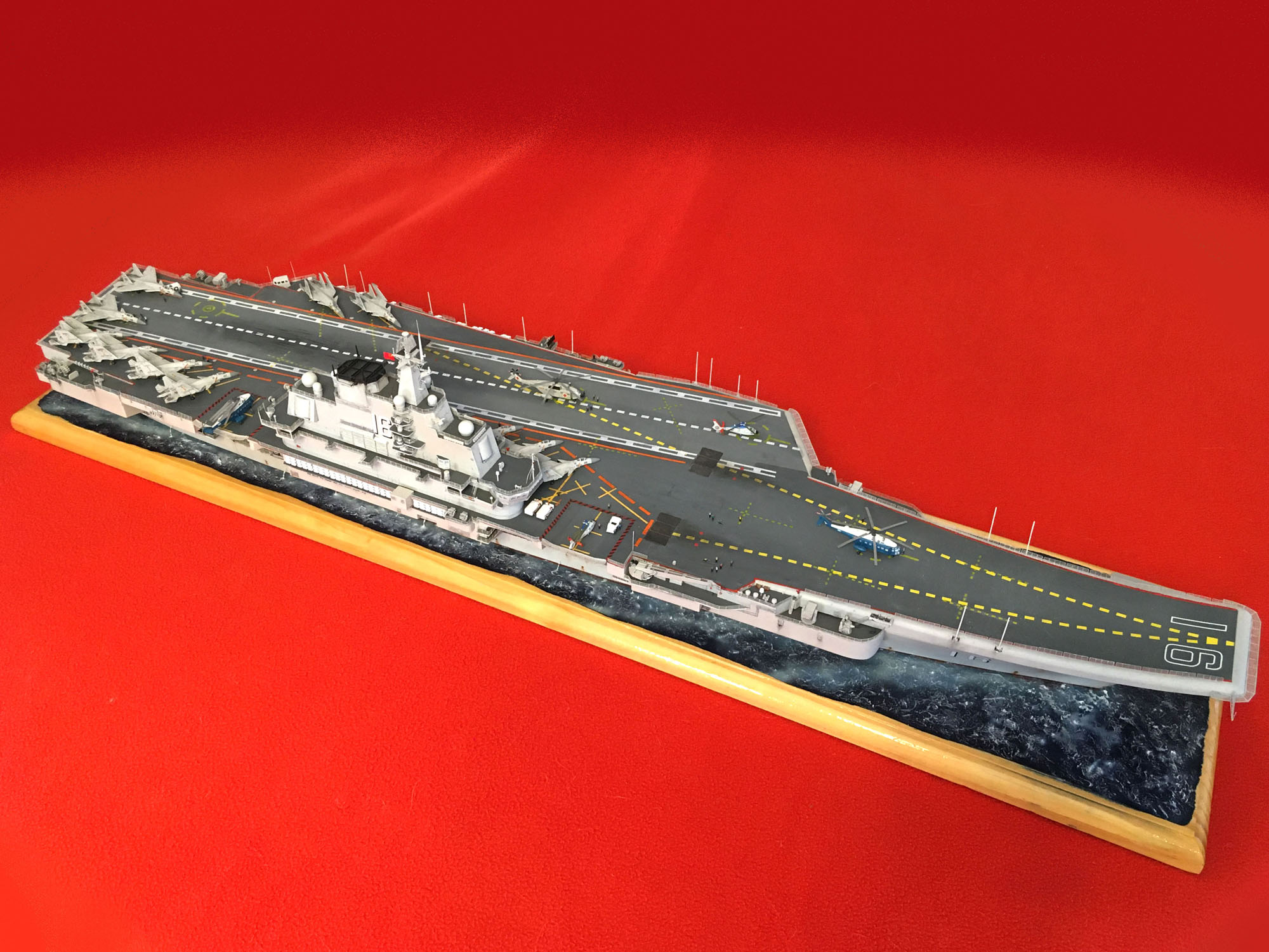 Porte-avions LIAONING CV-16 (PLA Navy) Liaon218