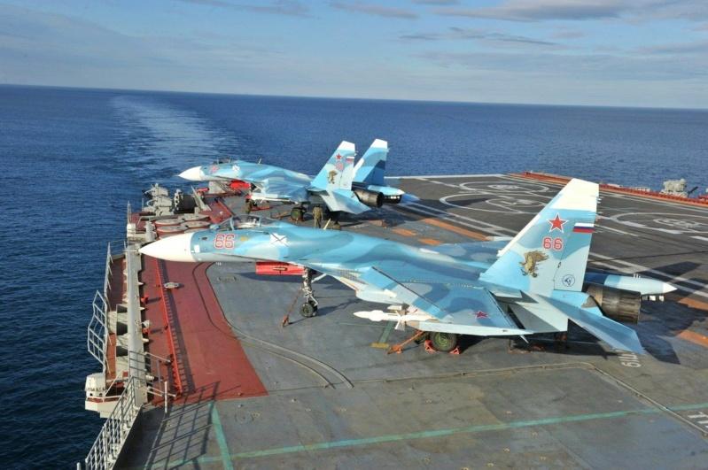 "Admiral KUZNETSOV ""UPGRADED"" 1/350 Su-33_10"