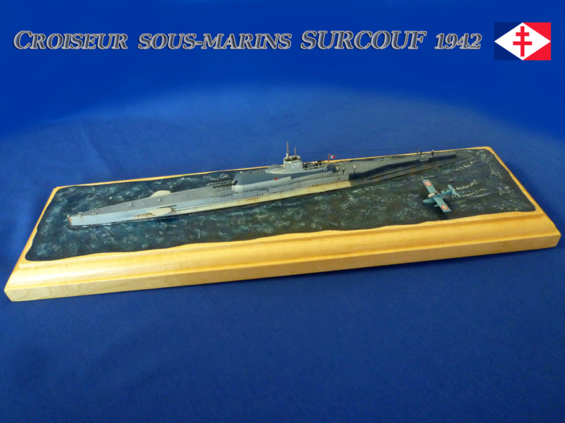 Sous-Marin LE SURCOUF 1/350 Surcou13