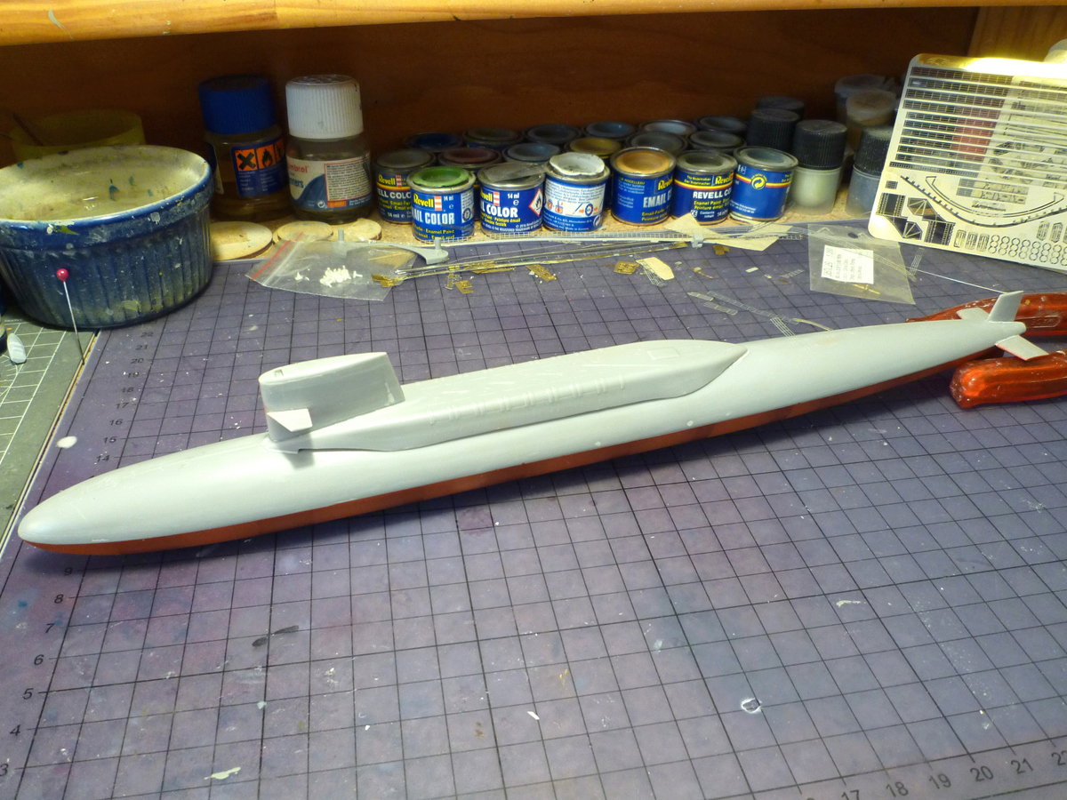 SSBN USS George Washington 1/350  Whashi13