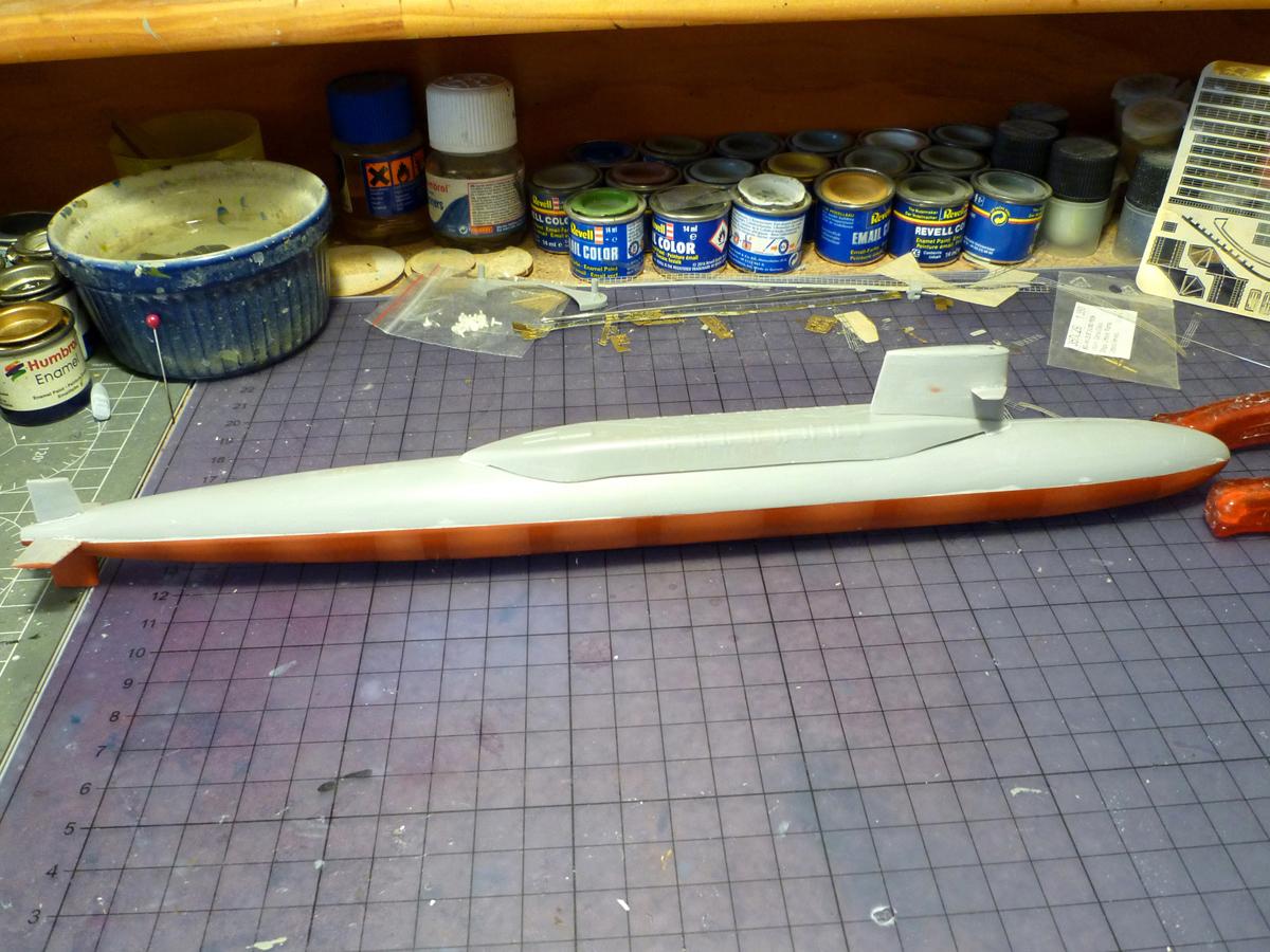 SSBN USS George Washington 1/350  Whashi14