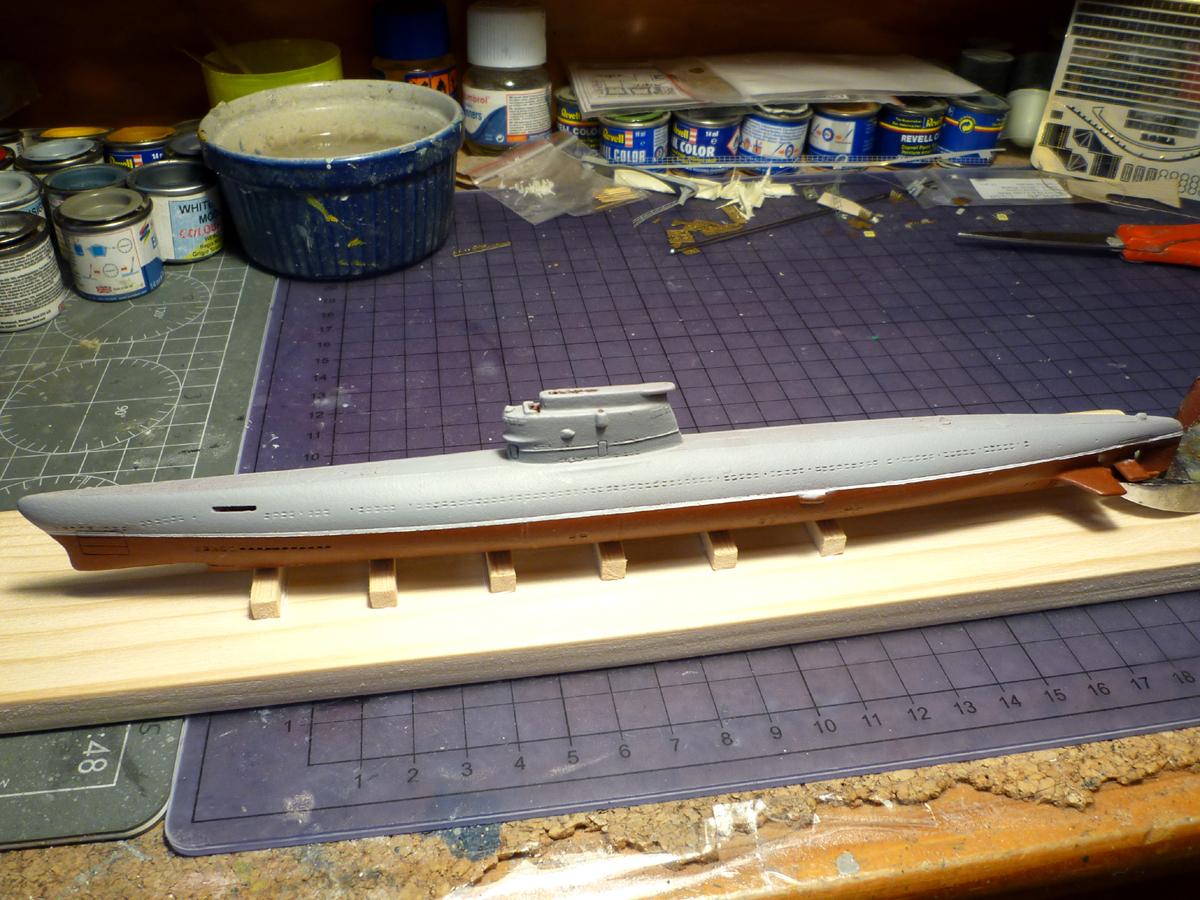 Sous-marin Soviétique Classe ZULU (project 611) 1/350 Zulu_310