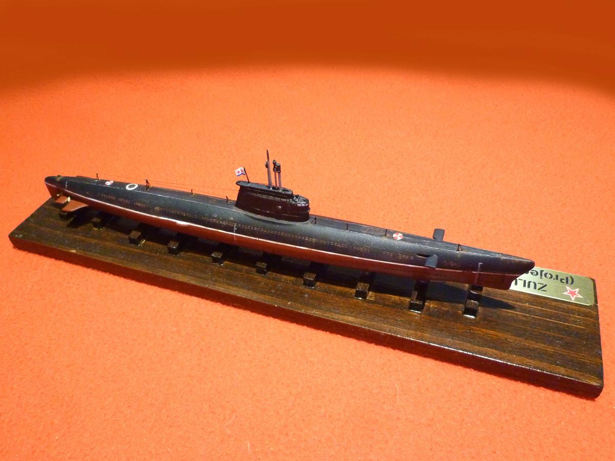 Sous-marin Classe ZULU (project 611) 1/350 Zulu_312