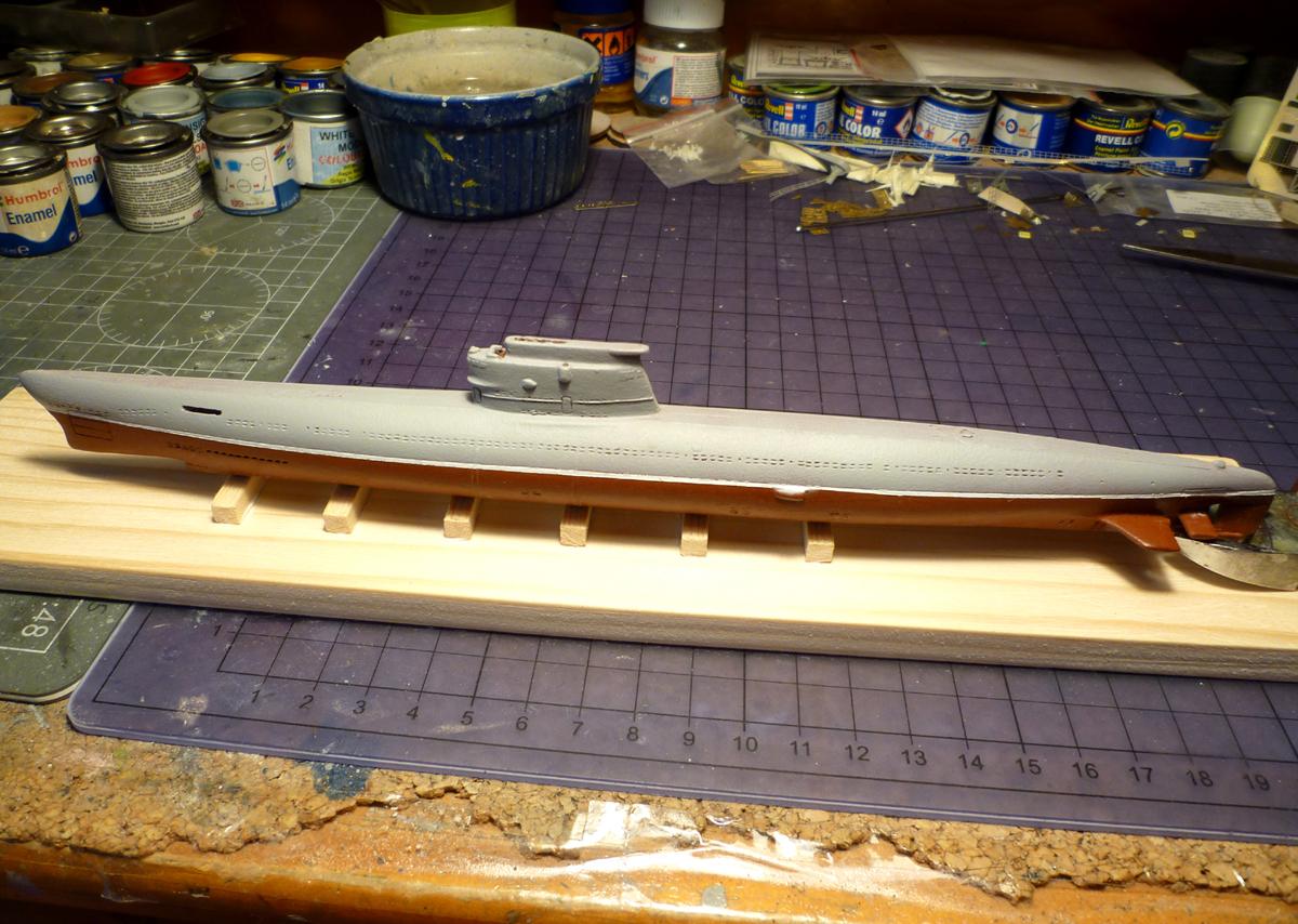 Sous-marin Soviétique Classe ZULU (project 611) 1/350 Zulu_410
