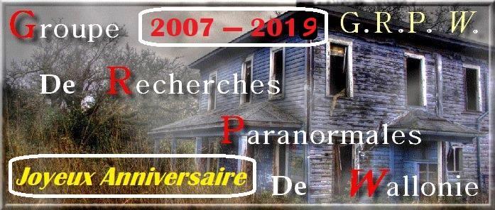 12 ans que le GRP Wallonie à été créé. Joyeux Anniversaire. Grp110