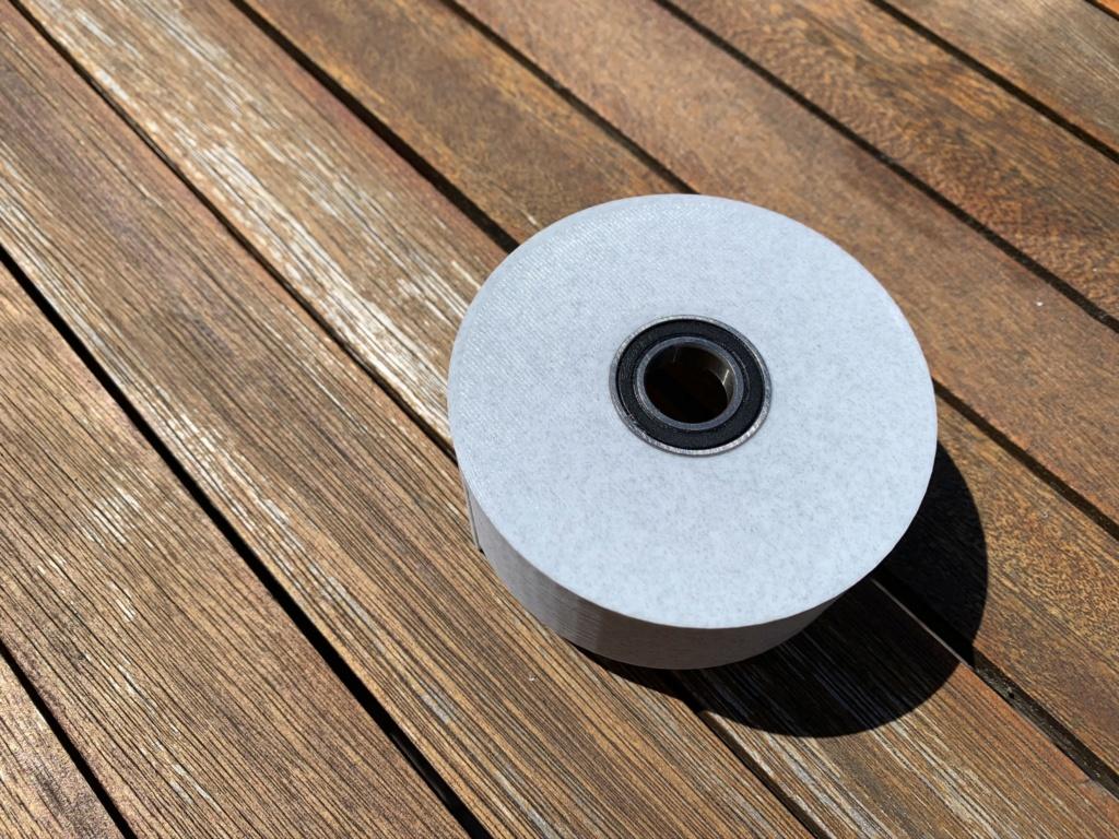 Recyclage de vos bobines de PLA vides... Img_1520