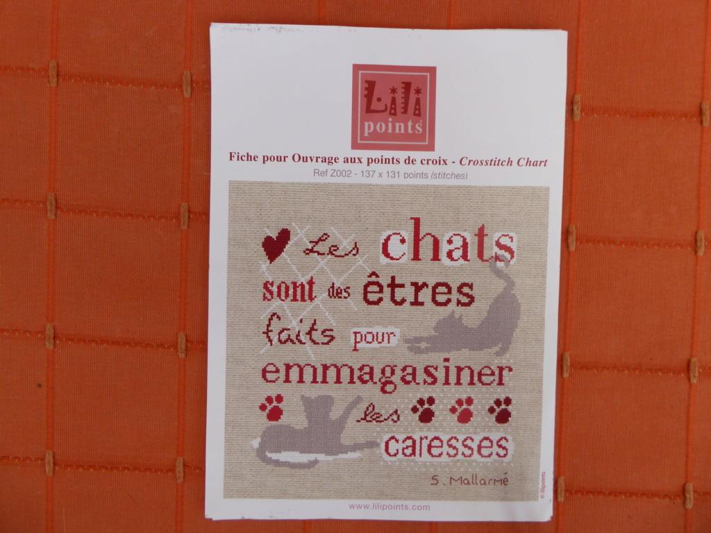 "Broderie "" Les chats sont.... P1020919"