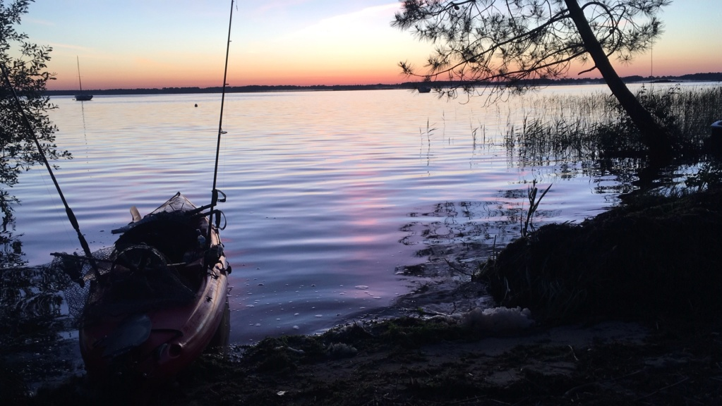 CRs peche en kayak ... en eau douce ;-)  Lacano10