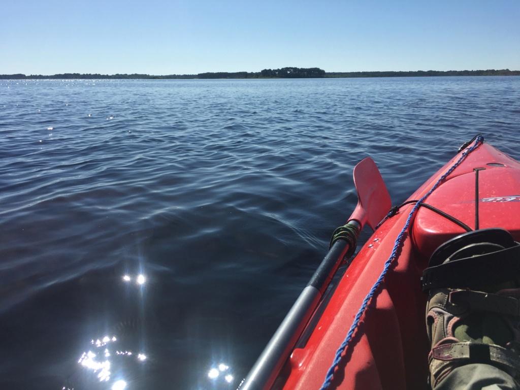 CRs peche en kayak ... en eau douce ;-)  Lacano12