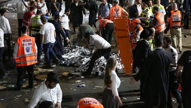 Drame en Israël : au moins 44 morts lors d'une bousculade géante dans un pèlerinage religieux. Image11