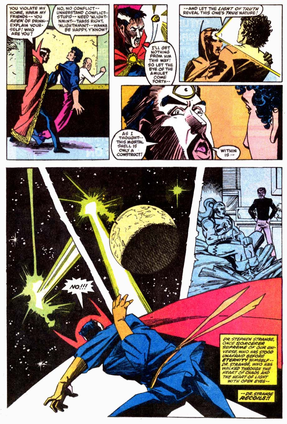 Doctor Strange (Classic) Fears Pre-Retcon Beyonder Rco01410