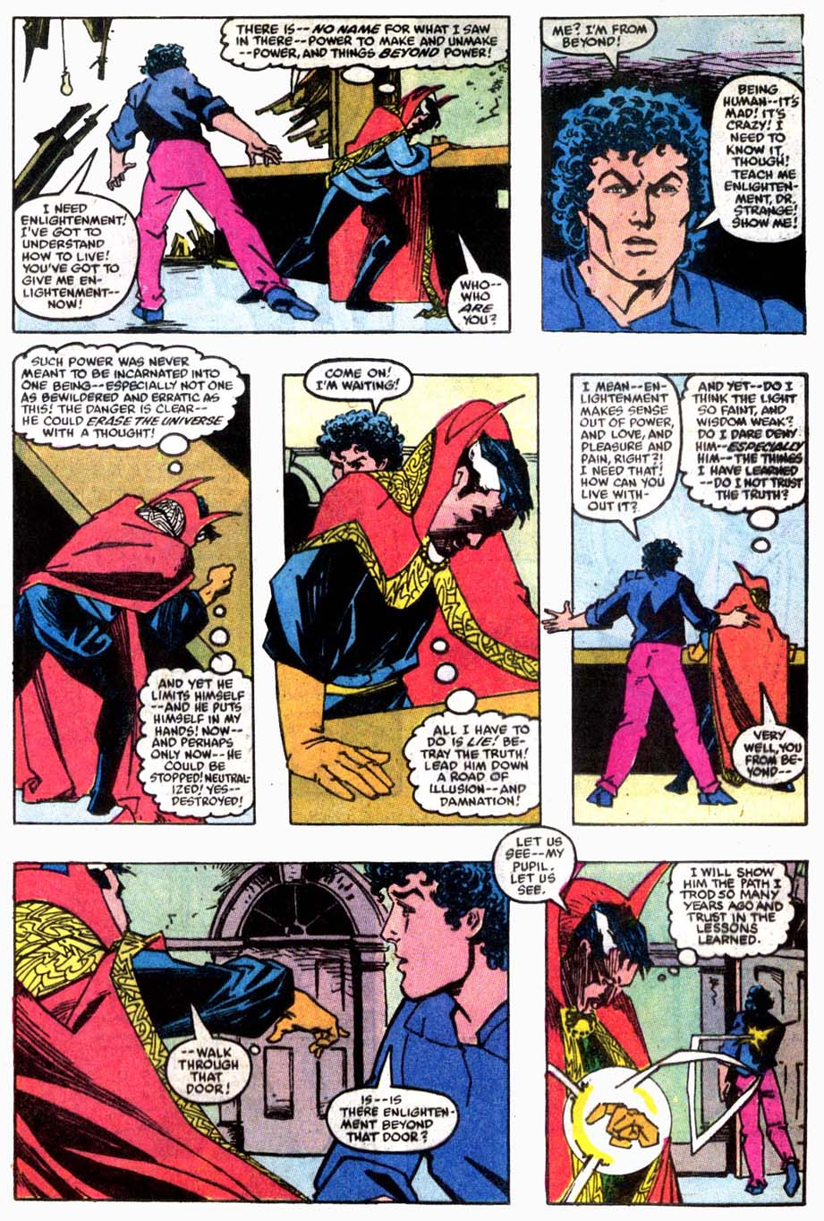 Doctor Strange (Classic) Fears Pre-Retcon Beyonder Rco01510