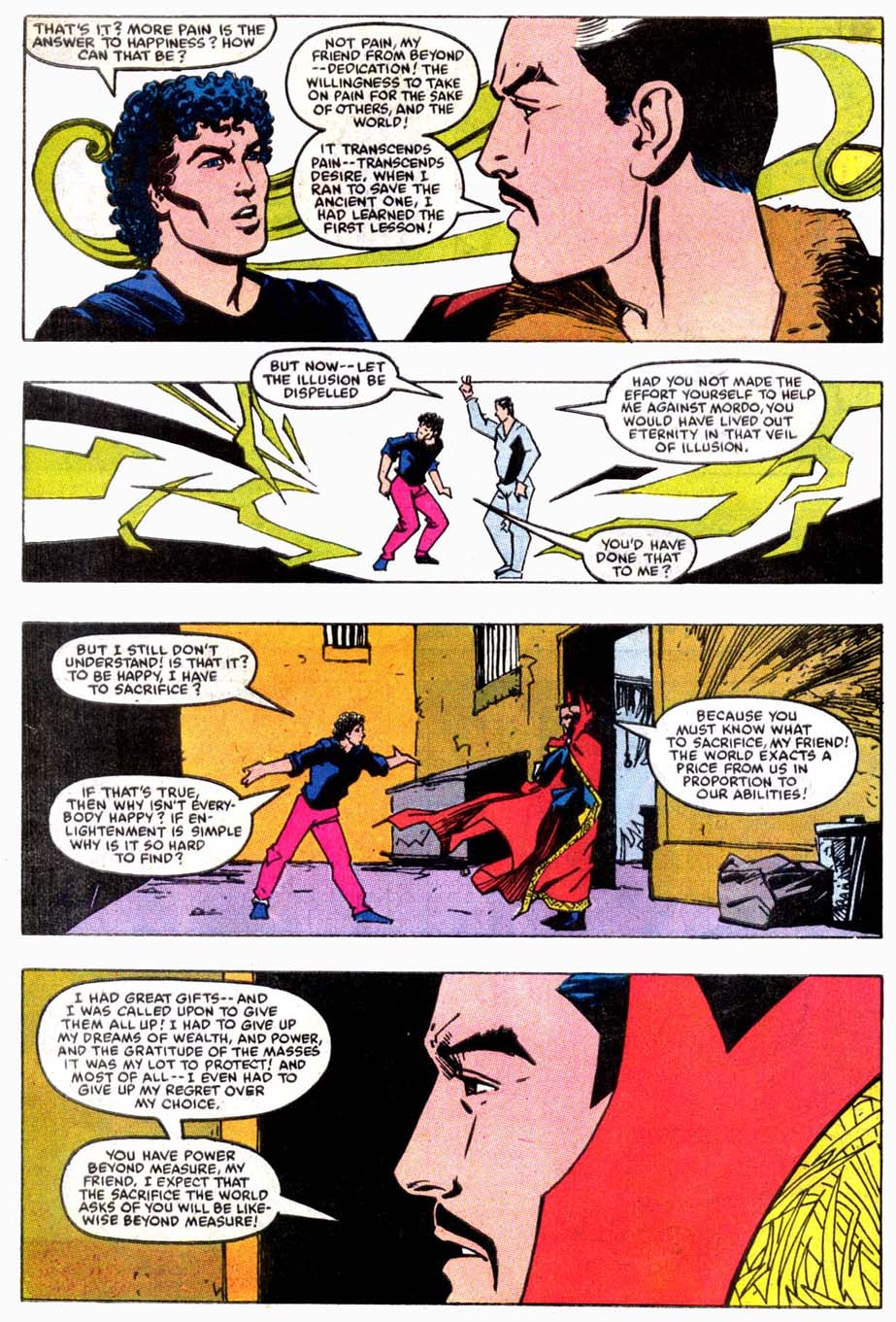 Doctor Strange (Classic) Fears Pre-Retcon Beyonder Rco02111