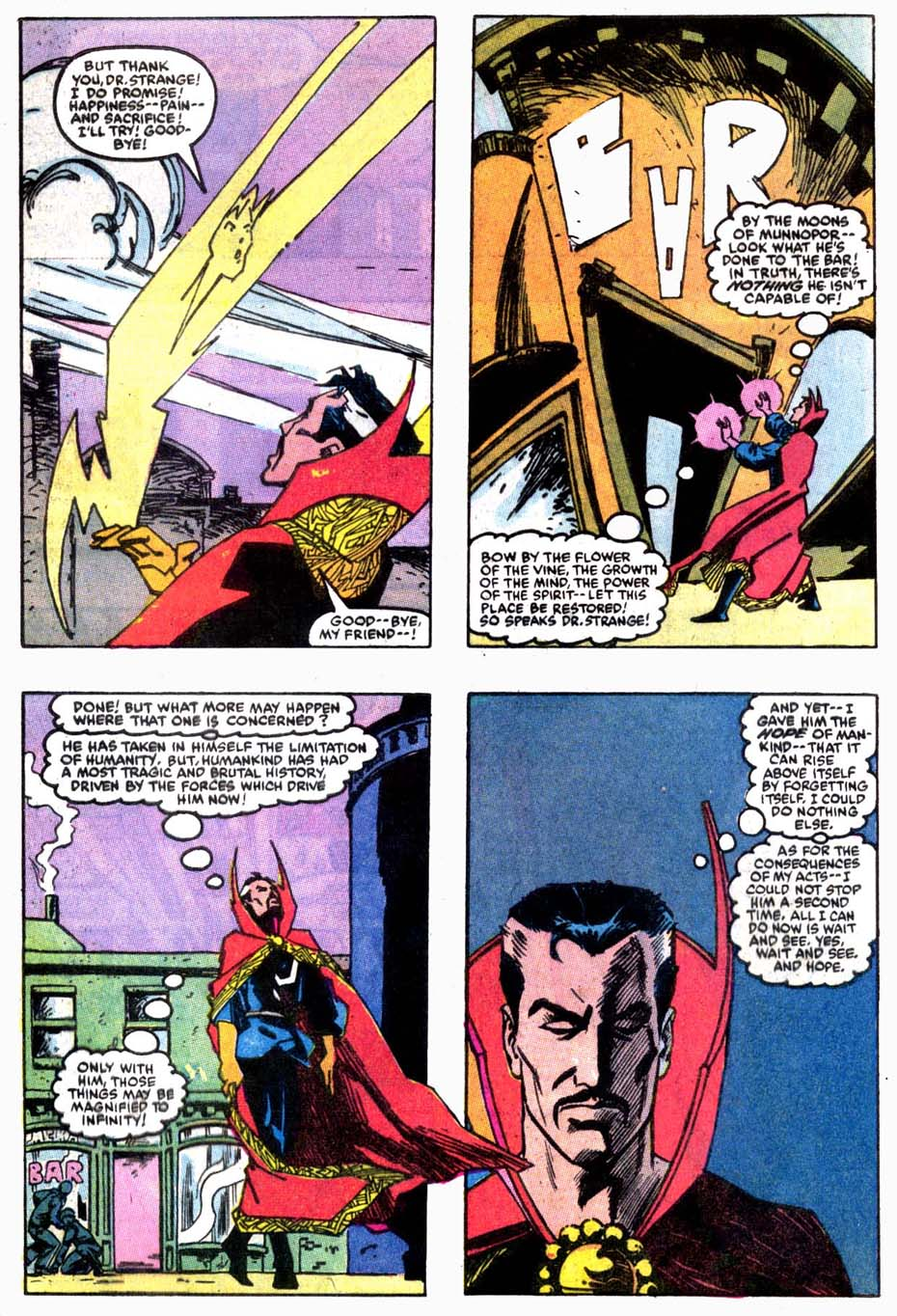 Doctor Strange (Classic) Fears Pre-Retcon Beyonder Rco02310