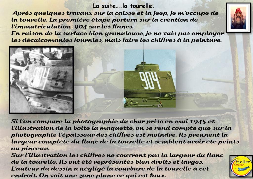 Mai 1945 - La chute de Berlin - 1/35 Char T34/85 N° 112 Factory production - Page 11 Acade110