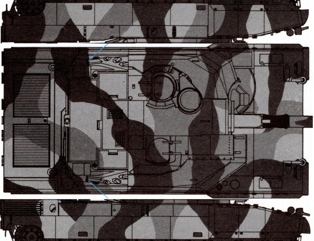Char AMX 56 LECLERC SERIE 1 Presque sortie de boite ... Réf 81135 - Page 2 Camouf11