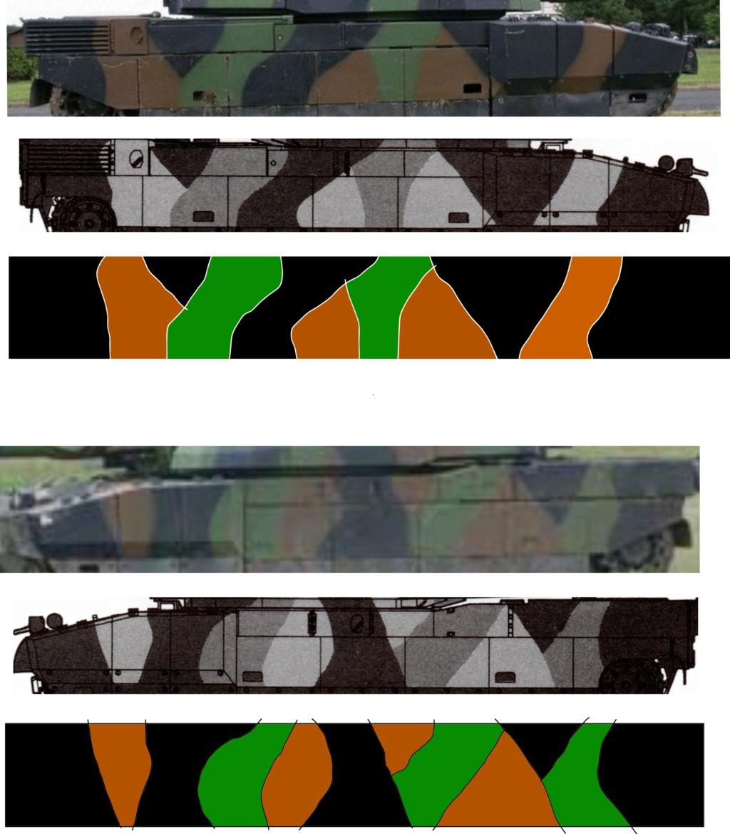 Char AMX 56 LECLERC SERIE 1 Presque sortie de boite ... Réf 81135 - Page 2 Camouf12