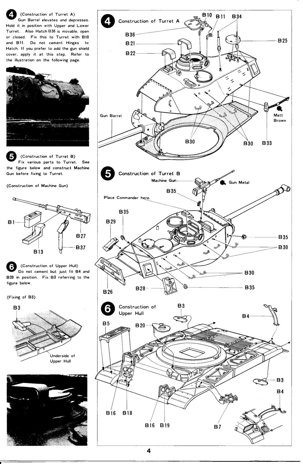 [TAMIYA] M41 WALKER BULLDOG  1/35 - REF : 35055 - NOTICE Maque357