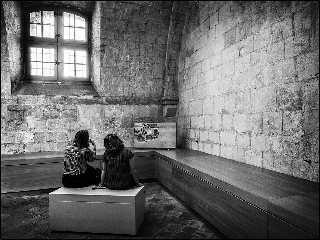 [Noir_et_Blanc] Les studieuses + V2 Pa193212