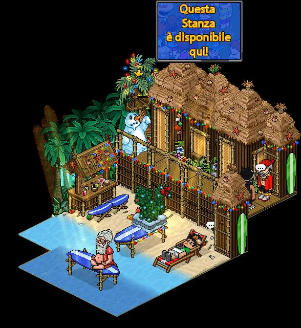 Reinserito affare stanza Resort sull'isola in catalogo su Habbo Affare27